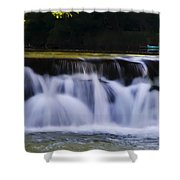 Indianhead Dam - Montgomery County Pa. Shower Curtain