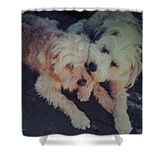Indie And Cea Mother Son  Shower Curtain
