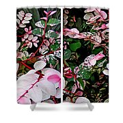 Indigo Plant In Stereo Shower Curtain
