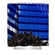 Indigo Tower Shower Curtain