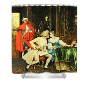 Indiscretion Shower Curtain
