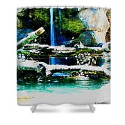 Indoor Nature Shower Curtain
