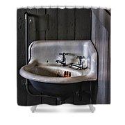Indoor Plumbing Shower Curtain