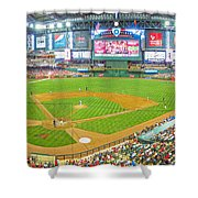 Indoors At Chase Field Shower Curtain
