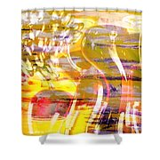 Indulge Shower Curtain by PainterArtist FIN