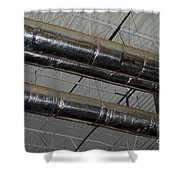 Industrial 1 Shower Curtain