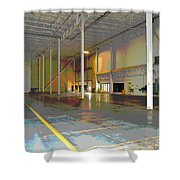 Industrial 2 Shower Curtain