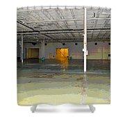 Industrial 4 Shower Curtain