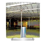 Industrial 6 Shower Curtain