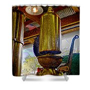 Industrial America Shower Curtain
