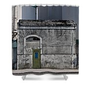Industrial Architecture Shower Curtain