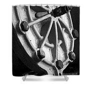 Industrial Object Art - Bw Shower Curtain