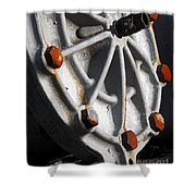 Industrial Object Art Shower Curtain