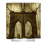 Industrial Spiders Shower Curtain