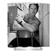 Industrial Strength Bw Palm Springs Shower Curtain