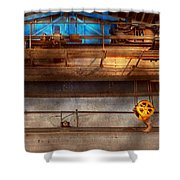 Industrial - The Gantry Crane Shower Curtain