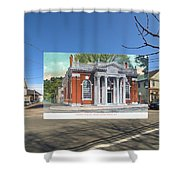 Industrial Trust Company In Warren Rhode Island Shower Curtain