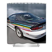 Indy 500 Pace Car 1993 - Camaro Z28 Shower Curtain by Gill Billington