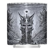 Infinite Death Shower Curtain
