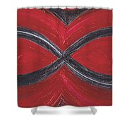 Infinite Love By Jrr Shower Curtain
