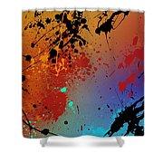 Infinite M Panel #2 Shower Curtain
