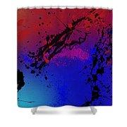 Infinite M Panel #3 Shower Curtain
