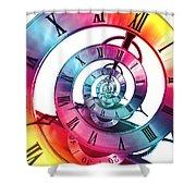Infinite Rainbow 2 Shower Curtain