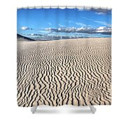 Infinite Sand Patterns Shower Curtain