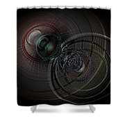 Echoes Of A Soul 1 Shower Curtain
