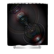 Echoes Of A Soul 2 Shower Curtain