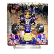 Infiniti Red Bull Formula One Racing Car  Shower Curtain