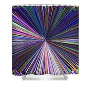 Infinity Abstract Shower Curtain
