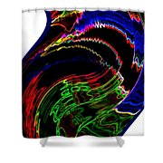 Infinity Dancer 10 Shower Curtain