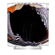 Infinity Drum 1 Shower Curtain