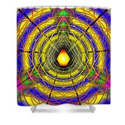 Infinity Gateway Nine Banner Shower Curtain