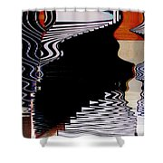 Infinity Kiss 2 Shower Curtain