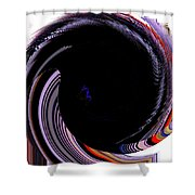 Infinity Mask 1 Shower Curtain