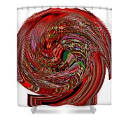 Infinity Mask 2 Shower Curtain
