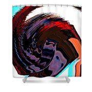 Infinity Mask 5 Shower Curtain