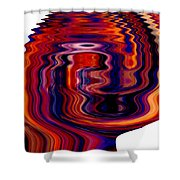 Infinity Mask 6 Shower Curtain