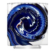 Infinity Mask 8 Shower Curtain