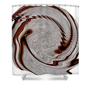 Infinity Mask4 Shower Curtain