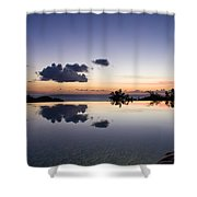 Infinity Reflection Pool Shower Curtain