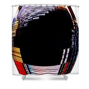 Infinity Ring 6 Shower Curtain