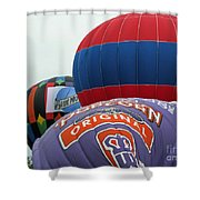 Inflating Shower Curtain