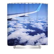 Inflight Entertainment Shower Curtain