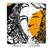 Influence Of The Moon Shower Curtain