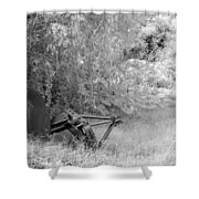 Infrared 2 Shower Curtain