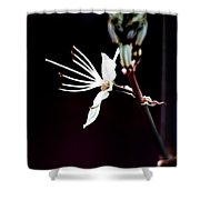 infrared Asphodel Shower Curtain