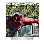 Infusion Lounge Shower Curtain